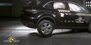Euro NCAP test sudara Porsche Cayenne