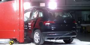 Euro NCAP test sudara Škoda Karoq