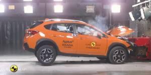 Euro NCAP test sudara Subaru XV